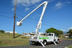 bucket truck outriggers